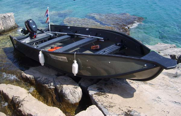 Barci pliabile - Barca porta bote ...
